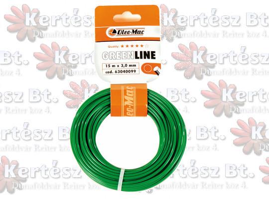 1.6x 15m kerek zöld GreenLine - 63040224