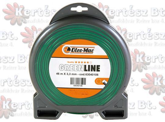 3.5x 41m kerek zöld GreenLine - 63040174