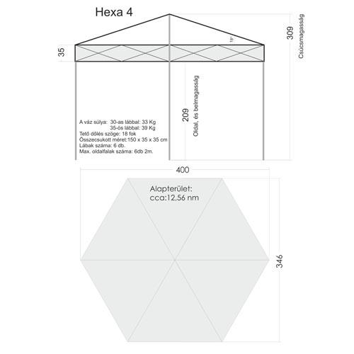 Hexa 4 ( 35x35 mm-es lábbal)