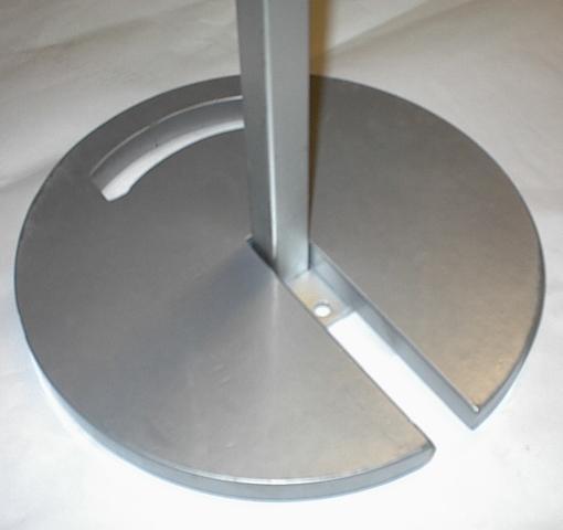Kör Talpsúly  (Horganyzott+színterezett) 30cmx2cm  (10kg) (Lábanként 1db ajánlott)