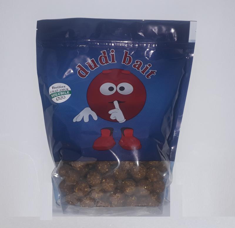 Bojli Crap-Amur 1kg solubile (oldódó) 20-as