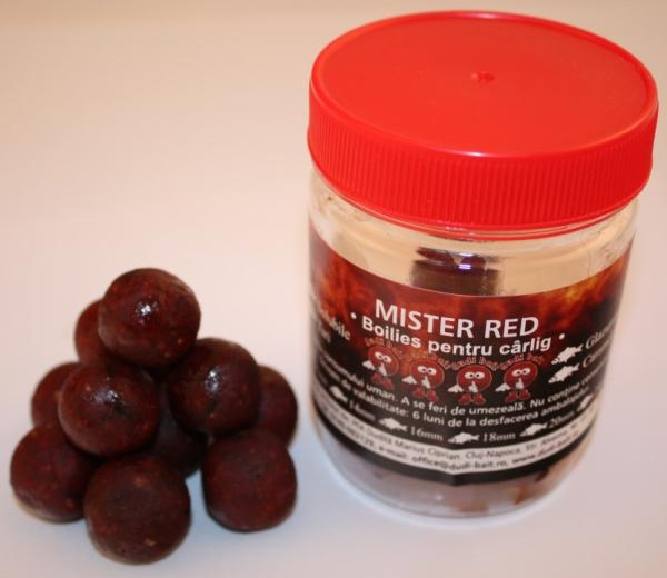 HOROG BOILIE MISTER RED 100G dippelt főzőtt 20mm