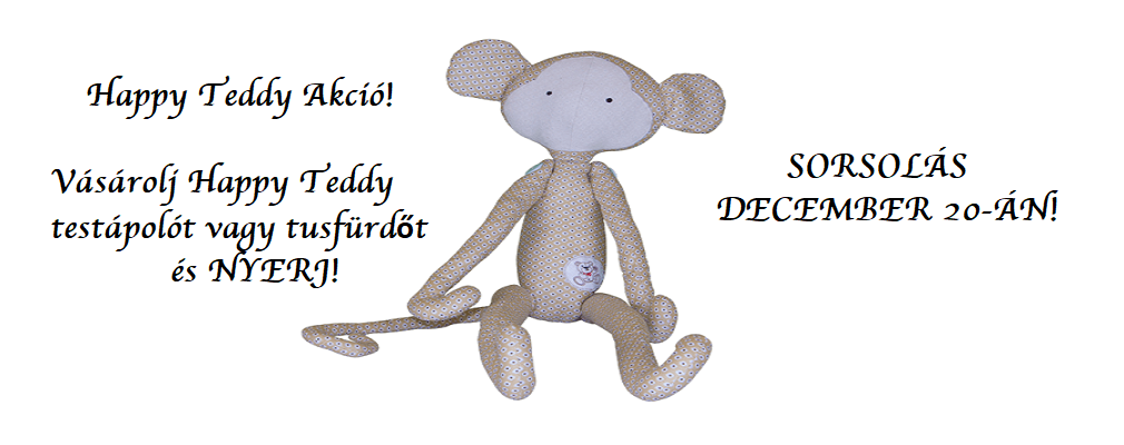 Happy Teddy Akció!