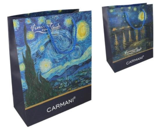 Ajándéktáska Van Gogh 20x25 cm
