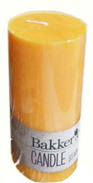 Gyertya Bakker narancs 7x14 cm