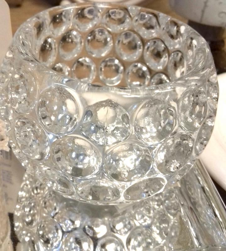 Mécsestartó üveg cseppes
