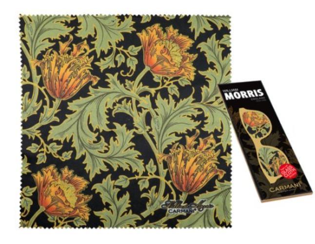 Szemüvegtörlő kendő William Morris Chrysanthemum