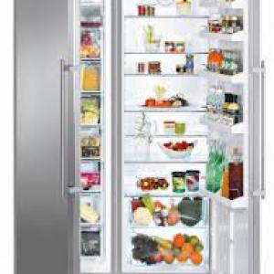 hűtőszekrények