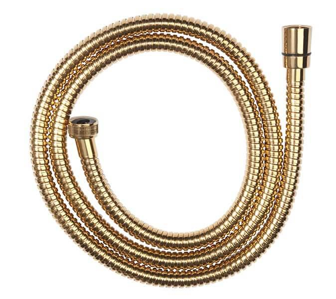 Csavarodásmentes arany színű zuhanygégecső 150 cm W35
