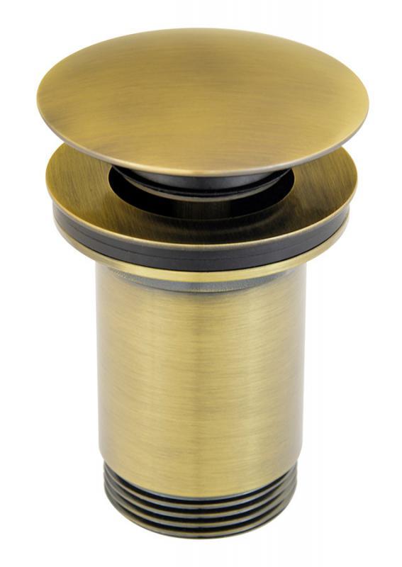 Ferro Click-clack G5/4 Rotondo lefolyószelep, bronz
