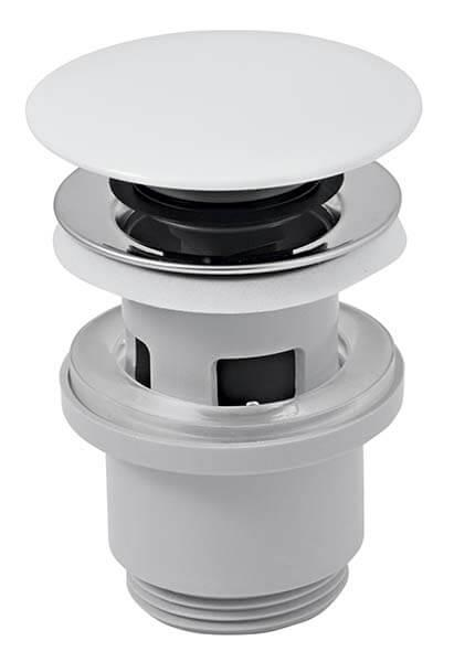 Ferro Click-clack lefolyószelep porcelán mosdóhoz 5/4-es kerámia dugóval