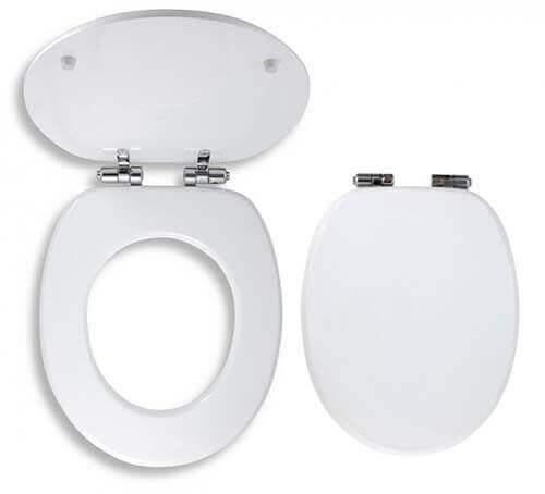 Soft close és gyorsan leszerelhető wc ülőke fehér