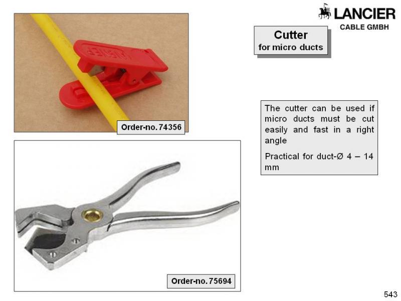 Micro-tube cutter metal, minicsővágó, fém 3-12 mm