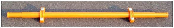 Type 20 dobemelőhöz dob tengely FE 1850mm