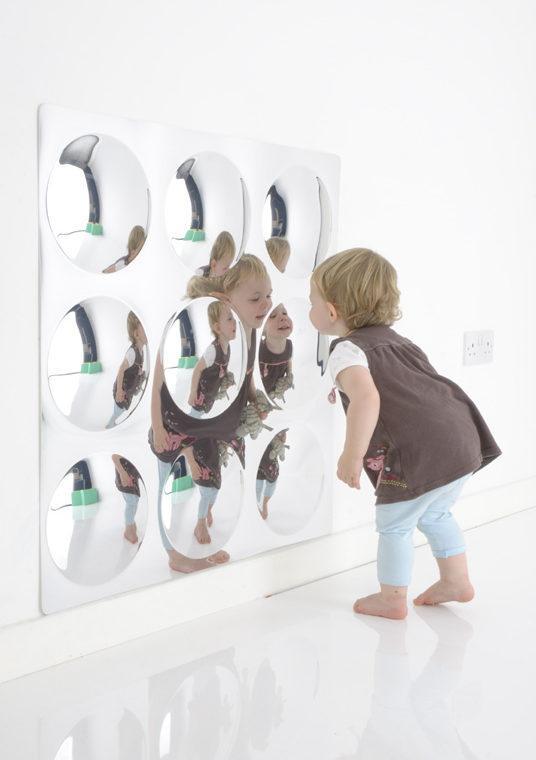 9 buborékos, szenzoros domború tükör