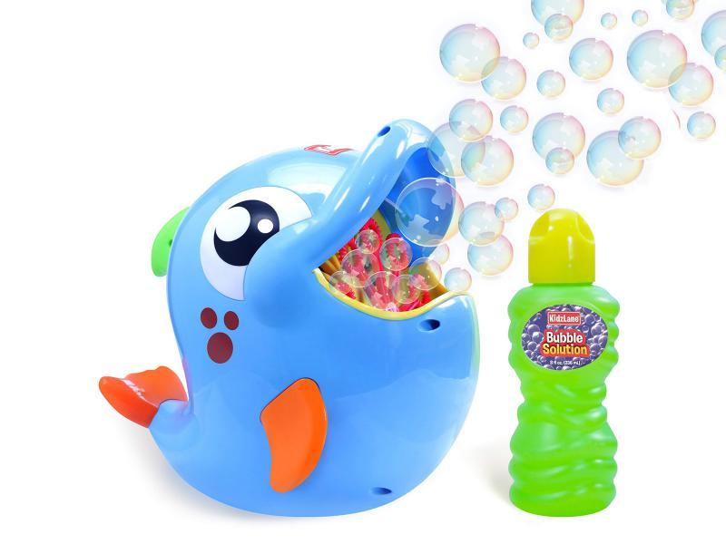 Buborékfújó halacska
