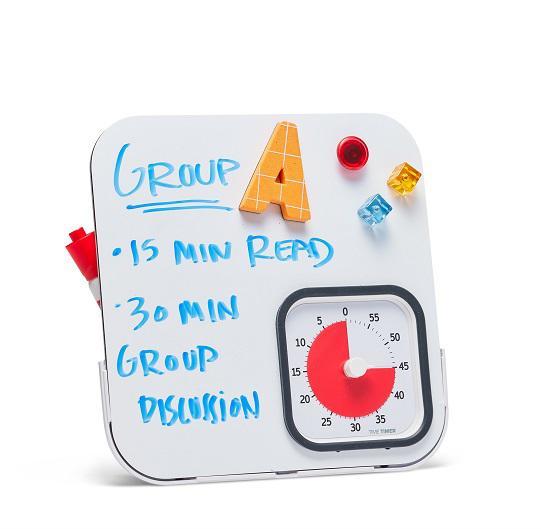 Dry Erase Board for TimeTimer MOD