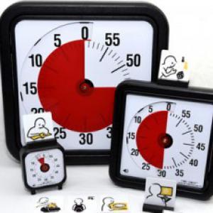 TimeTimer Piktogram Készlet Iskolába