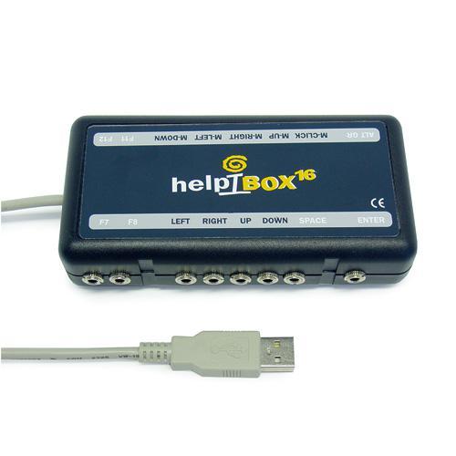 HelpiBox 16 - USB Switch Box