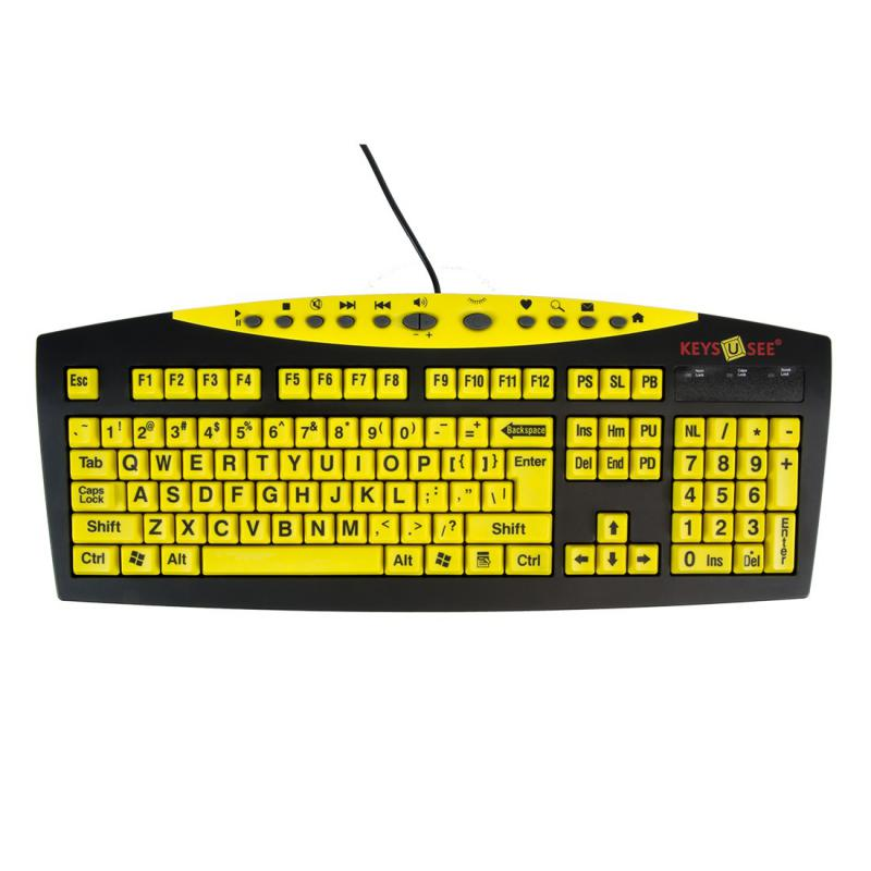 Keys-U-See Keyboard - Yellow
