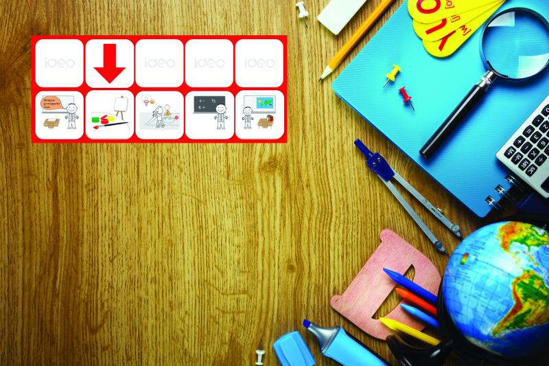 Mágneses Piktogram Készlet Iskolába