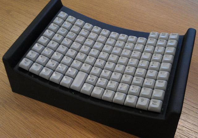 Maltron Head/Mouth Stick keyboard