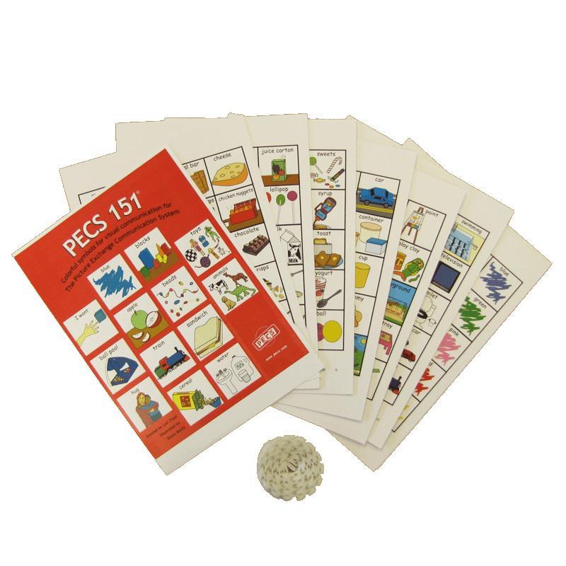 PECS Napirendi Kártya Készlet (4,5 cm)