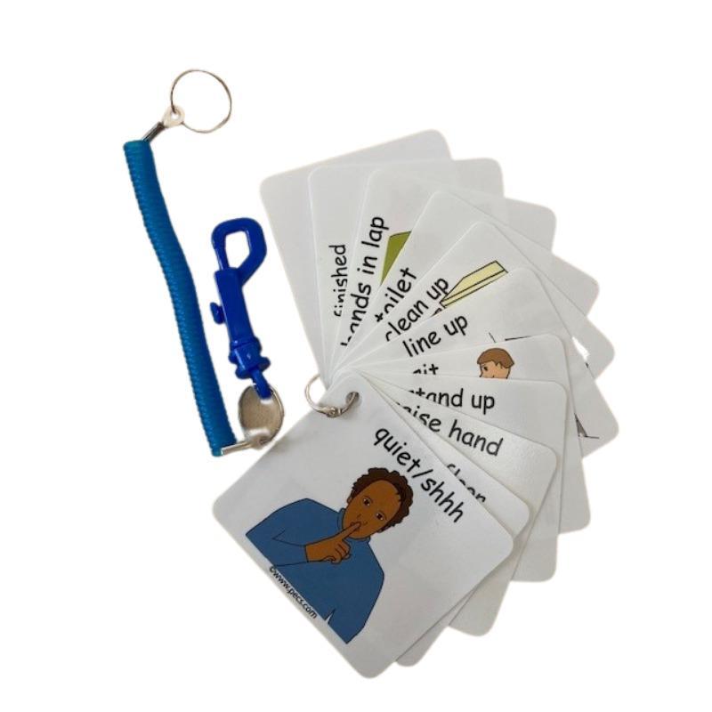 PECS Napirendi Kártya Készlet - hordozható