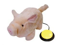 Percy, a malacka - kapcsolóval működtethető plüss játék