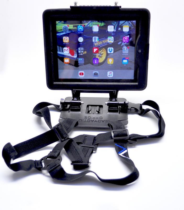 Tablet tartó hám XL pro