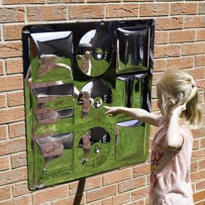 9 buborékos homorú-domború szenzoros tükör