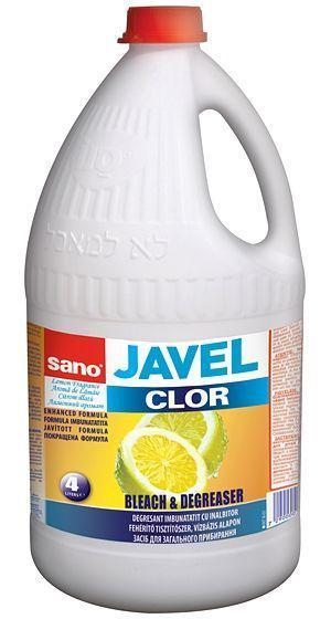 Javel Bleach 4l