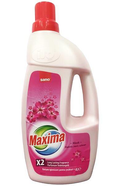 Sano Maxima Aromaterápiás Öblítő Musk 4L