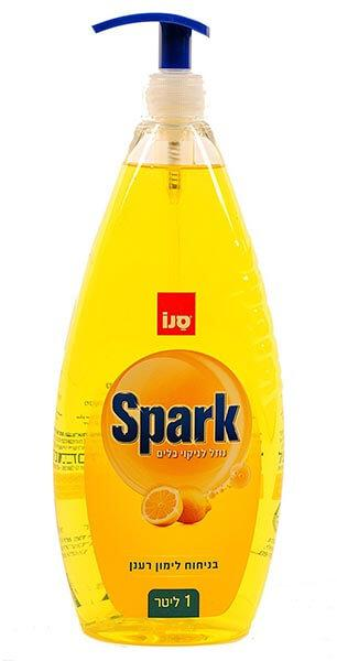 SANO SPARK citromos mosogató pumpás 1L