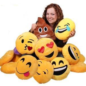 emoji párnák, emoji papucs