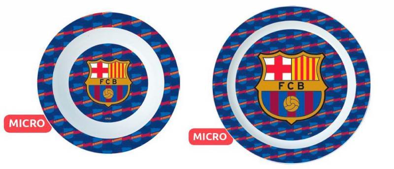 barcelona tányér szett