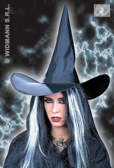 boszorkány kalap fekete nagy