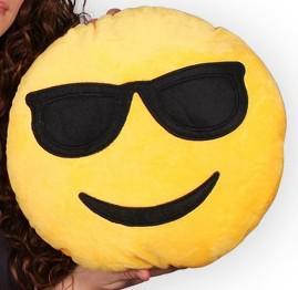 emoji párna napszemüveg