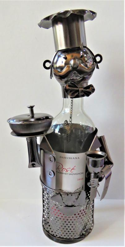 fém bortartó szakács