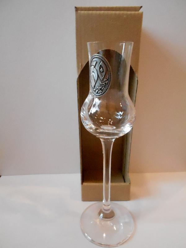 grappás pohár 30. születésnapra