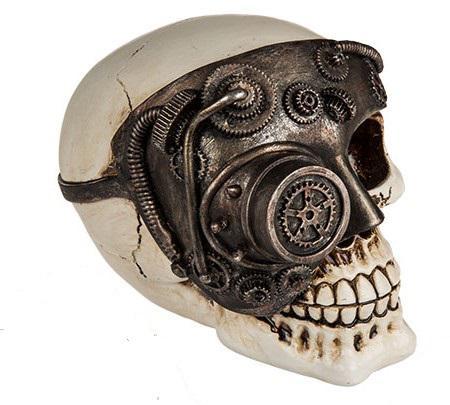 koponya cyborg fém fókusz 1 szem