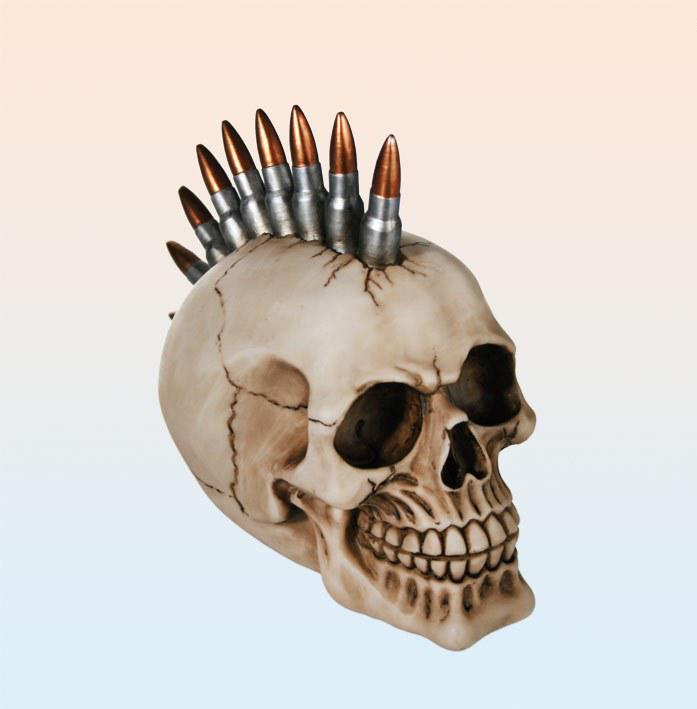 koponya persely töltényekkel