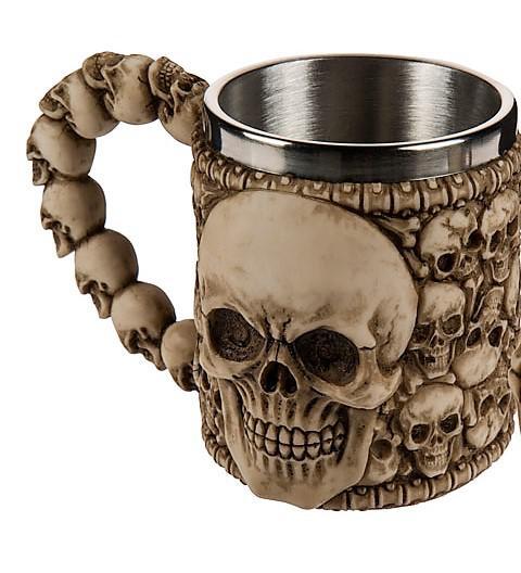 koponya söröskorsó csont szín, koponyákkal