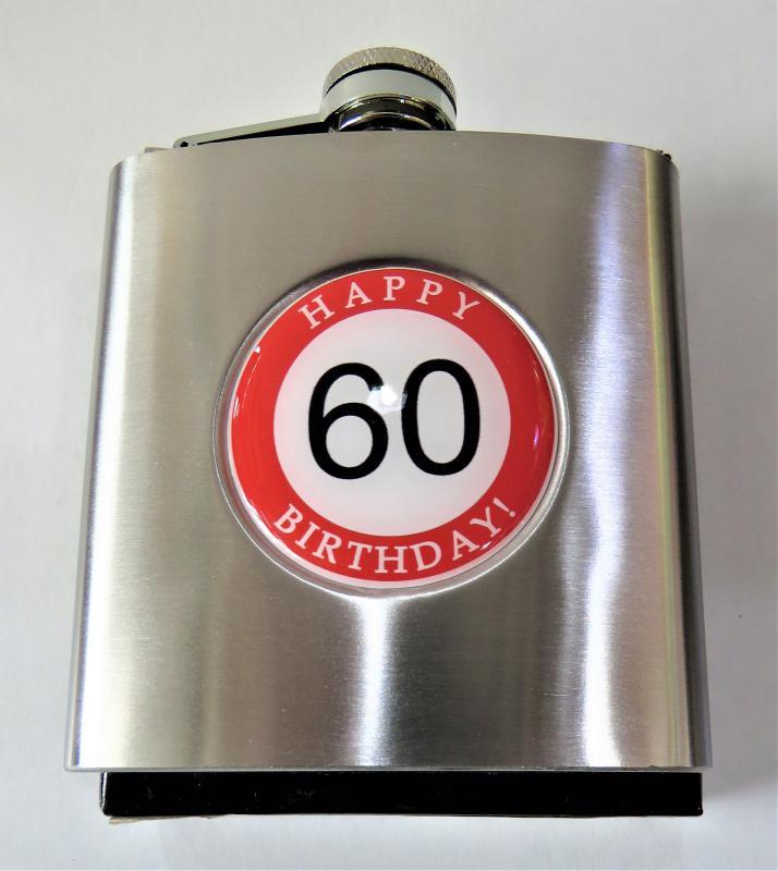 laposüveg, flaska hb. 60. születésnapra