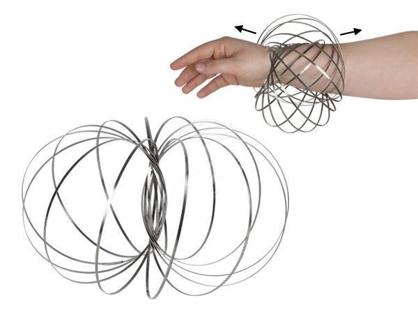 magic ring, flow ring ezüst