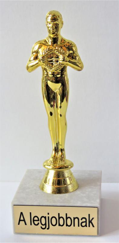Oscar szobor a legjobbnak