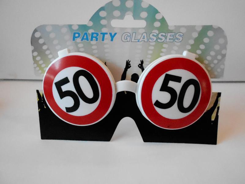 parti szemüveg 50.születésnapra