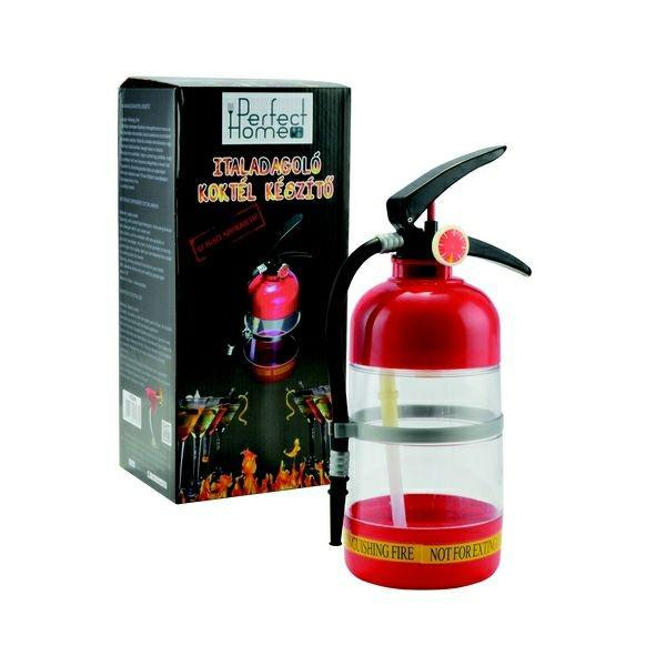 tűzoltó palack italadagoló, szomjoltó