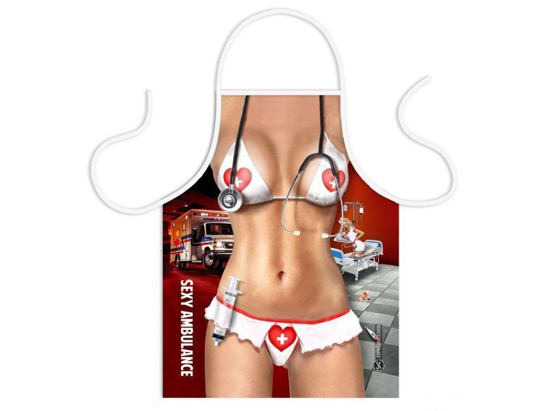 vicces szexi női kötény ápolónő