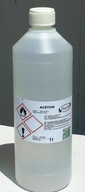 Aceton technikai minőség  99,9%-os 1 liter